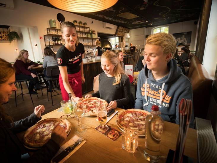 Geweldige pizza en de leukste gastvrouw van Utrecht