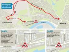 Utrechtseweg in Arnhem gaat enkele dagen op slot in de herfstvakantie