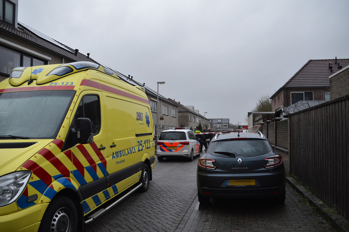 Hulpdiensten in de Vogelwikke in Swifterbant.
