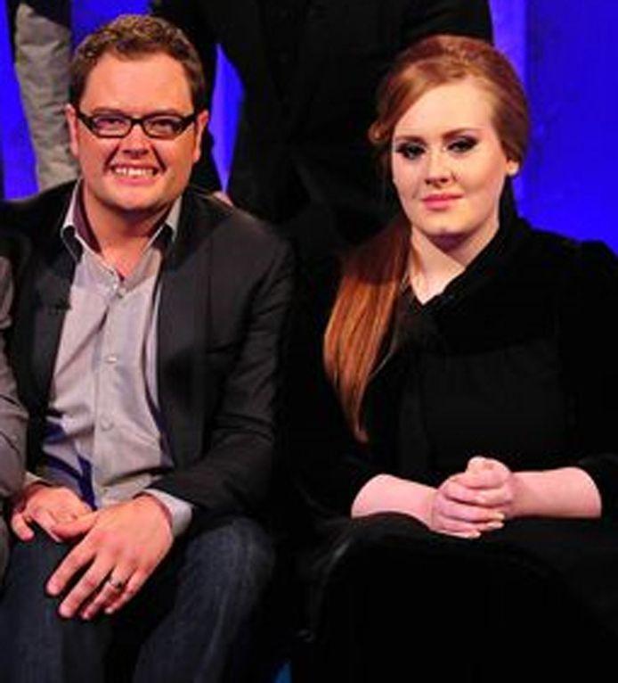 Alan Carr en Adele