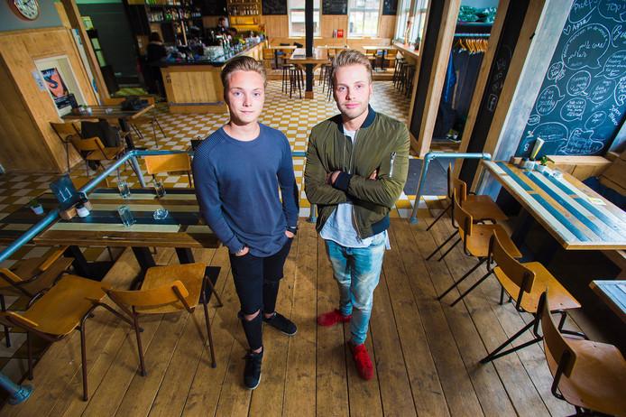 Organisatoren Niels van der Kooij en Léon Rodijk. Foto: Maarten Sprangh
