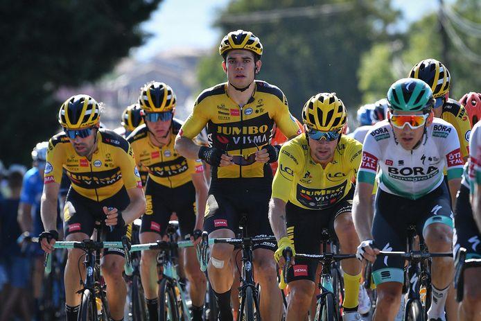 Wout van Aert gooit momenteel hoge ogen in de Tour de France.
