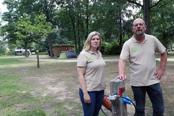Eigenaars Chantal en Jean Paul Kerssemeekers sluiten vanaf maandag de poorten van het domein voor bezoekers van buitenaf.