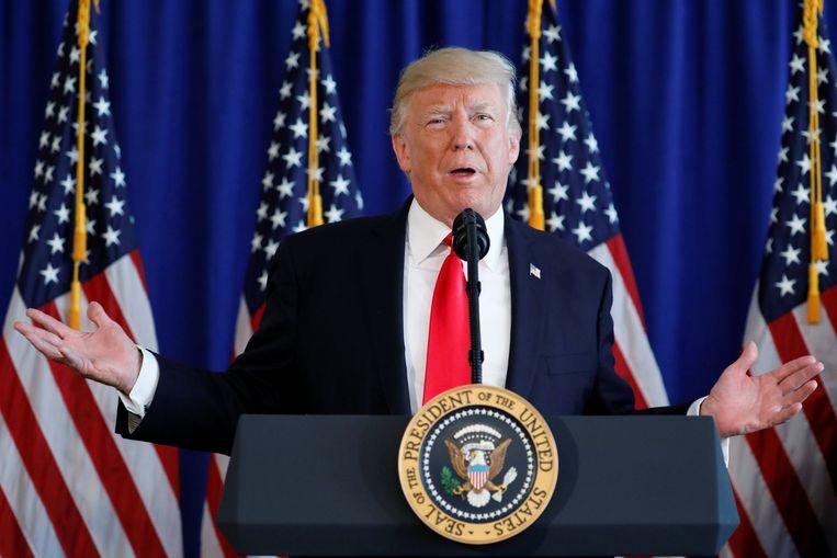 President Donald Trump. Beeld REUTERS