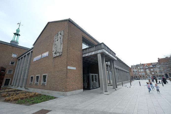 Het districtshuis van Merksem.