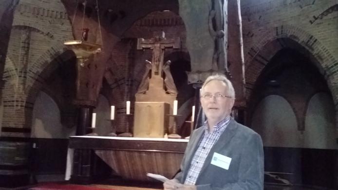 Jan van Oudheusden hoopt dat het boek de interesse voor de Sint Jan aanwakkert