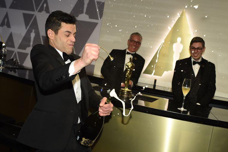 Rami Malek won de Oscar voor beste acteur. Beeld AFP