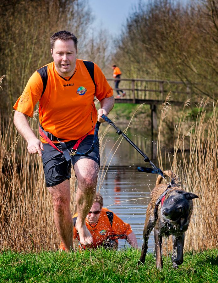 Sinds 2015 is in Delft jaarlijks de dogsurvival.