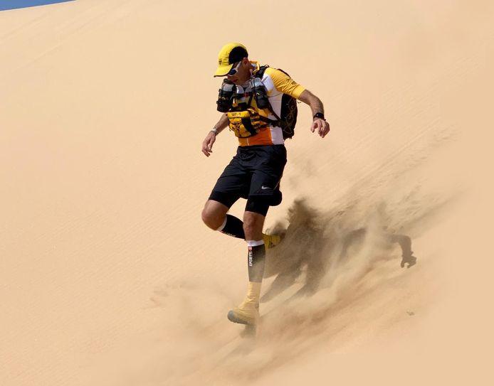 René Bleuanus Gorinchem - lid van de Rotterdam Running Crew Gaat de marathon des Sables lopen