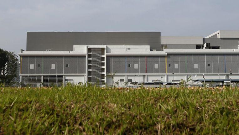 Het nieuwe datacenter van Google in Singapore. Beeld epa