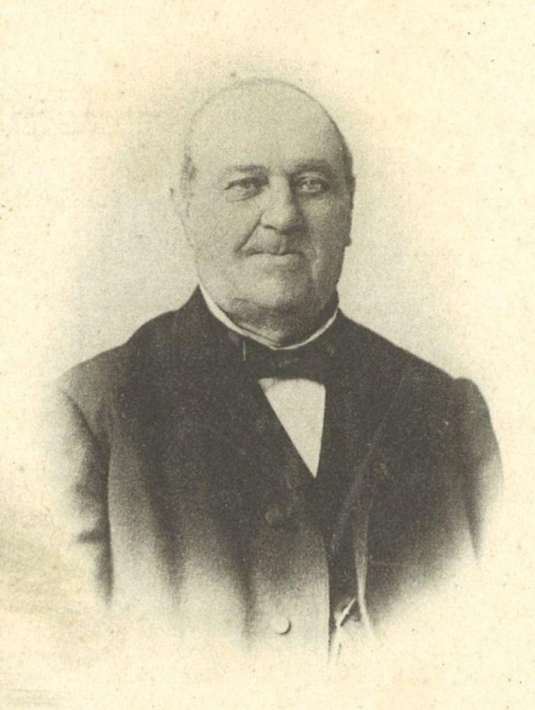 Borstelpionier Eduard De Ryckere.