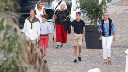Albert en Paola op reis met gezin Laurent... zonder Laurent zelf