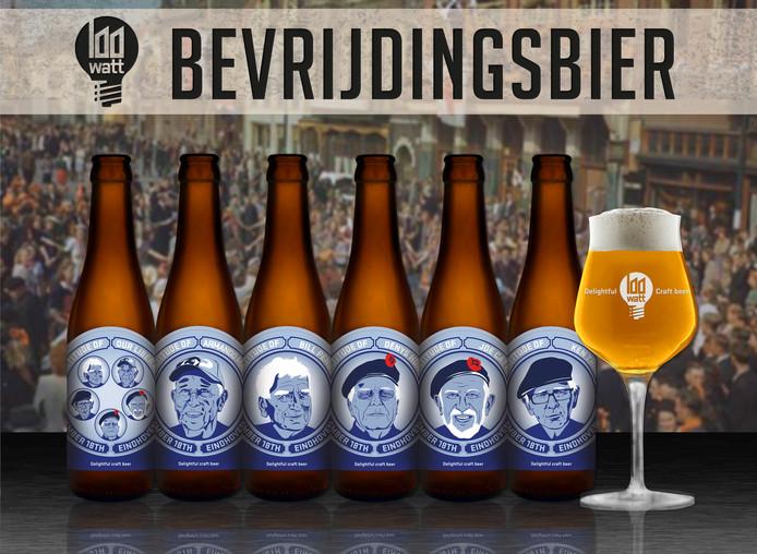 Speciaal voor de 75ste herdenking van de Bevrijding van Eindhoven brengt de Stadsbrouwerij met de Stichting 18 September een Bevrijdingsbier uit. Het bekende 40Watt blond kreeg nieuwe etiketten met daarop 5 bekende oorlogsveteranen.