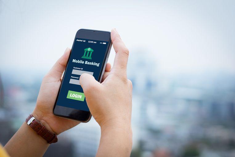 De mobiele toepassingen voor het bankieren scoren goed.