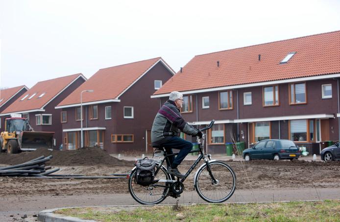 Nieuwbouw op Kernhem.