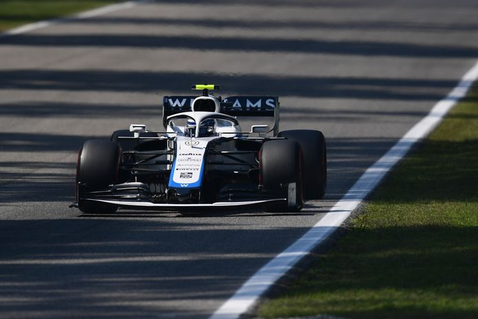 Williams-coureur Nicholas Latifi.