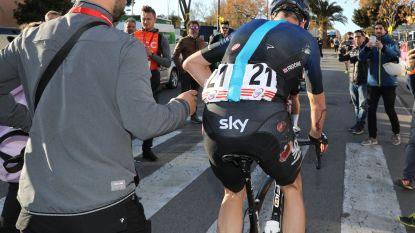 """Team Sky na valpartij Froome: """"Hij joeg geen klassement na, hij is oké"""""""