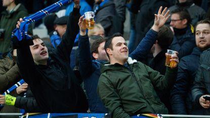 Club Brugge ontsnapt aan boete voor supportersongeregeldheden