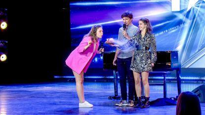 Jarige zangeres en tijdreizigers in Belgium's Got Talent