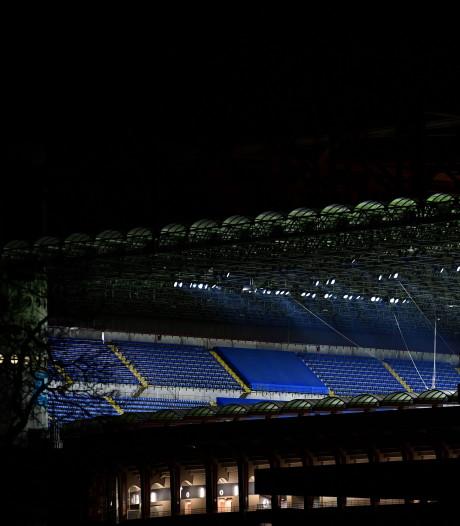 Juventus en Inter spelen zondag definitief zonder publiek