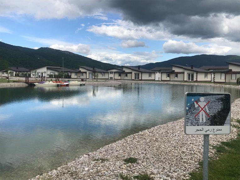 Het onlangs geopende Sarajevo Resort. Beeld thijs kettenis