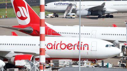 Air Berlin annuleert 100 vluchten nadat 200-tal piloten zich ziek melden