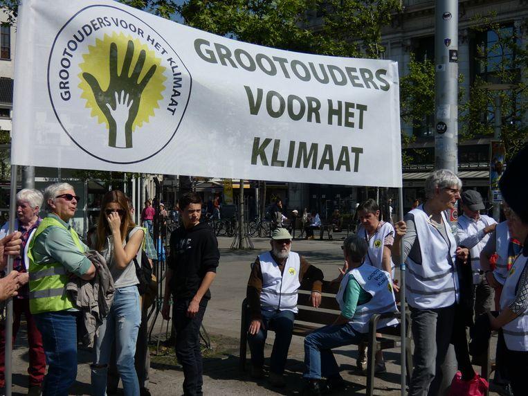 De delegatie van Grootouders voor het klimaat.