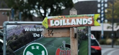 Festivalterrein Loillands at the park omgebouwd tot groot vliegveld