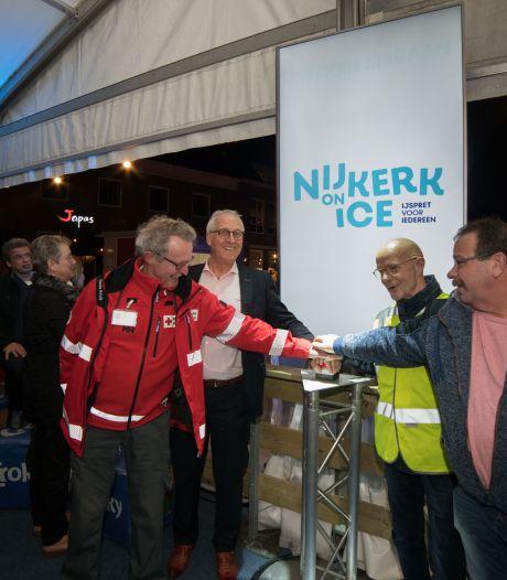 Dit jaar geen ijsbaan in Nijkerk: tiende editie  wordt noodgedwongen uitgesteld