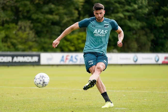 Wesley Hoedt during Training AZ Alkmaar NETHERLANDS ONLY COPYRIGHT SOCCRATES/BSR