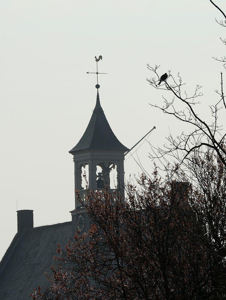 De kerk van Vrouwenpolder, waarmee Jan in aanvaring kwam. Beeld Marcel van den Bergh