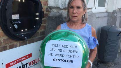 AED-toestel gestolen aan Middenschool
