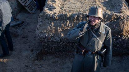 100 figuranten doen Duitsers afdruipen zoals in 1918