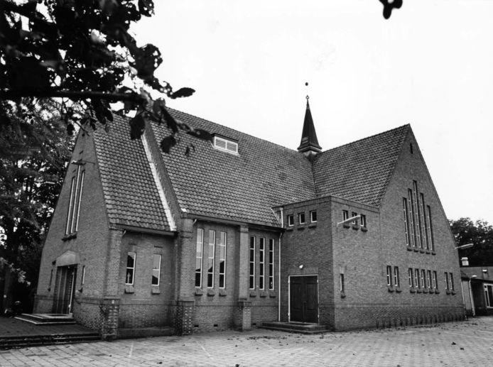 De Wilhelminakerk aan de Soesterbergsestraat.