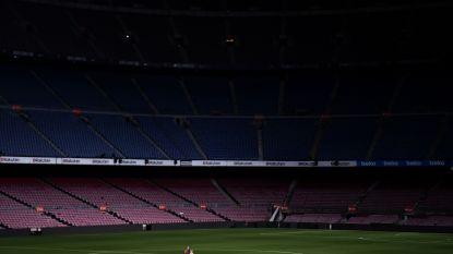 Iniesta en Camp Nou nemen afscheid van elkaar