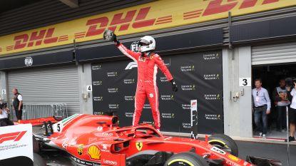 Geen kruid gewassen tegen Vettel op Spa-Francorchamps, geteisterde Vandoorne finisht voor eigen volk laatste