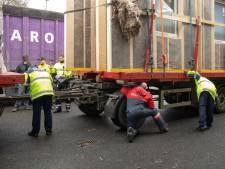 Vrachtwagens gecontroleerd in Baarn