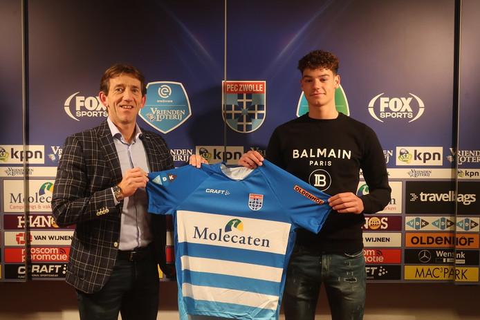 Mike Willems en Quinten van den Heerik hebben de deal beklonken.
