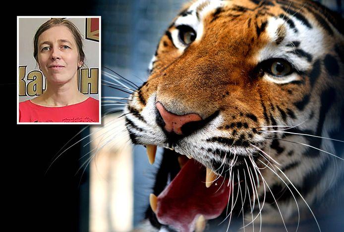 Nadezhda Srivastava werd aangevallen door een Siberische tijger.
