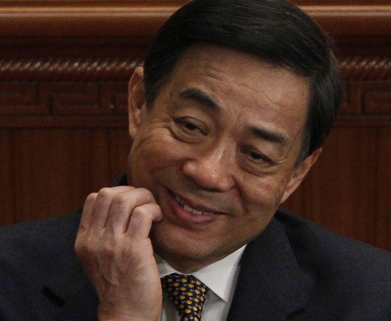 Bo Xilai, in maart 2012. Beeld ap