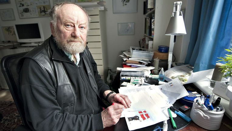 Cartoonist Kurt Westergaard. Beeld AFP