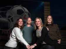 SDOUC-aanvoerder Roel Wilbrink heeft drie heel bijzondere fans