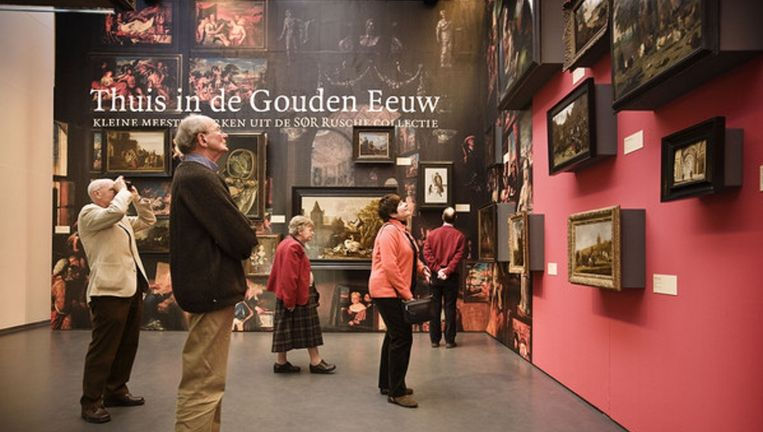 Tentoonstelling in de Kunsthal in Rotterdam. Beeld null