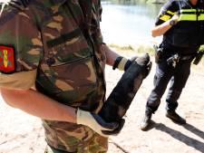 Zwemmer vindt granaat in Radioplassen Stevensbeek, EOD haalt explosief op