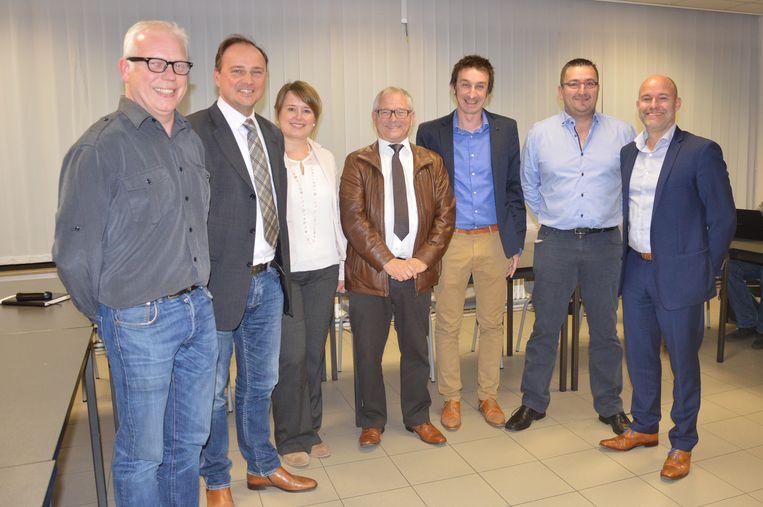 CD&V en sp.a enkele jaren geleden bij de voorstelling van het nieuwe bestuur.