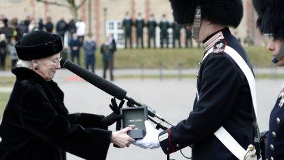 Deense koningin Margrethe verschijnt weer in het openbaar sinds uitvaart van haar man prins Henrik