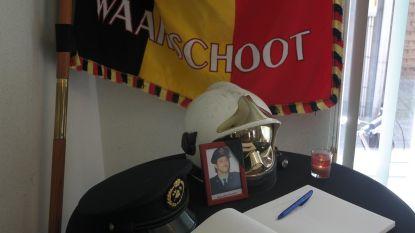 Brandweer herdenkt verloren collega tijdens opendeur