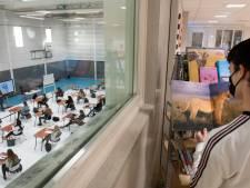 Pantarijn tovert gymzaal om tot mega-leslokaal