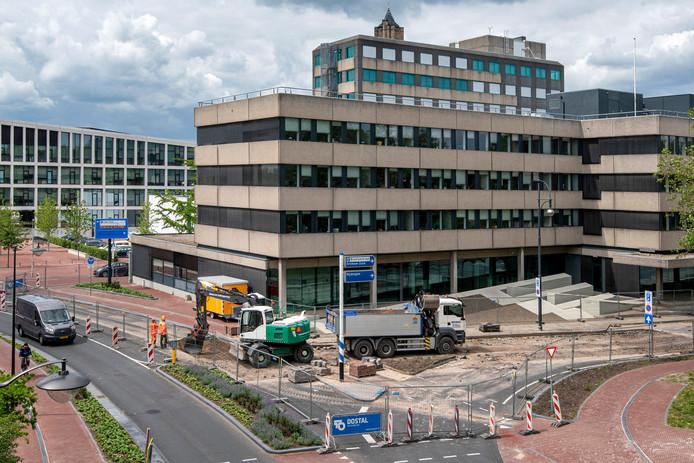 Werkzaamheden aan riolering in en bij de Oranjewachtstraat.