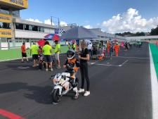 Dalfser motorcoureur Justin (12) pakt Italiaanse kampioenstitel